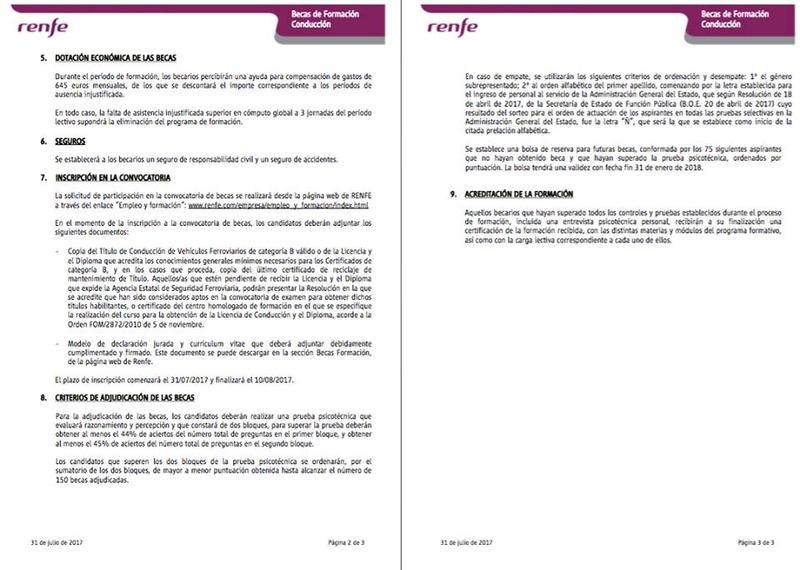 PLAN RRHH RENFE MAQUINISTAS-BECARIOS 645 € - Página 2 20525410