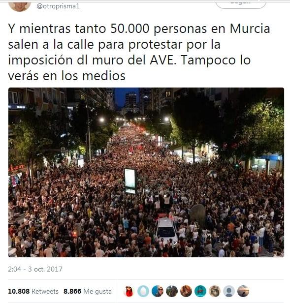 el AVE quizá llegará soterrado a Murcia pero la impunidad política camina por la superficie. - Página 4 Murcia10