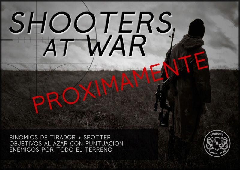 SHOOTERS AT WAR | PROXIMAMENTE | Guión específico para tiradores Shoote10