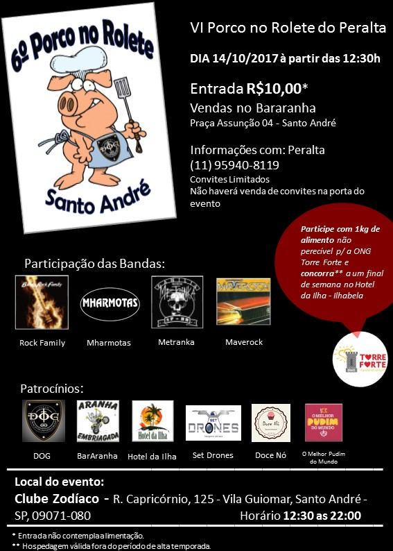 ENCONTRO ANUAL DOGs VI PORCO NO ROLETE 2017 Flayer17