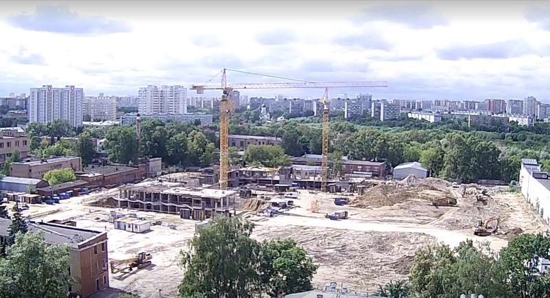"""О заметных изменениях на стройплощадке ЖК """"Нормандия"""" Zoksmr11"""