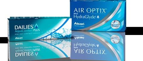 Amostra grátis Alcon- lentes de contacto DAILIES® ou AIR OPTIX 662a903a46