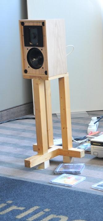 Lugar que fabriquen pies de altavoces de madera Soport10