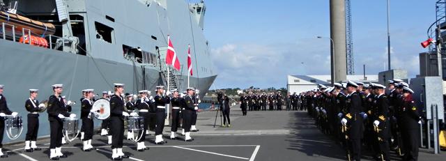 التجربة الدنماركية – ميلاد فرقاطة Artike10