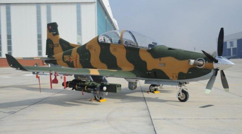 TAI Hurkus avion turbohelice de entrenamiento avanzado y ataque. Hurcus11