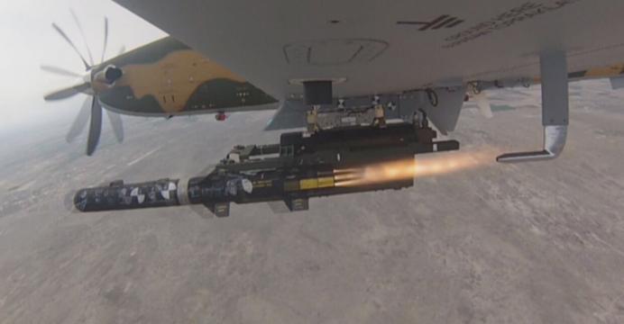 TAI Hurkus avion turbohelice de entrenamiento avanzado y ataque. Hurkus11