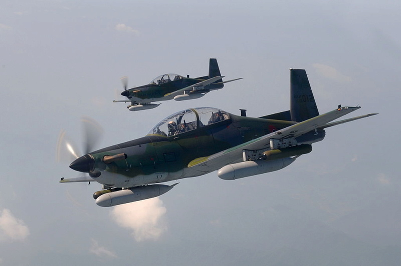 KT-1P Avion turbohelice de entrenamiento primario e intermedio de fabricacion coreana. Ka-1_112