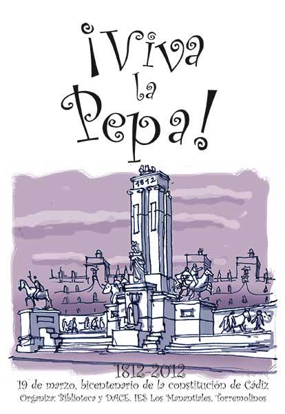 """La Constitución de 1812 """" La Pepa """" Pepaca10"""
