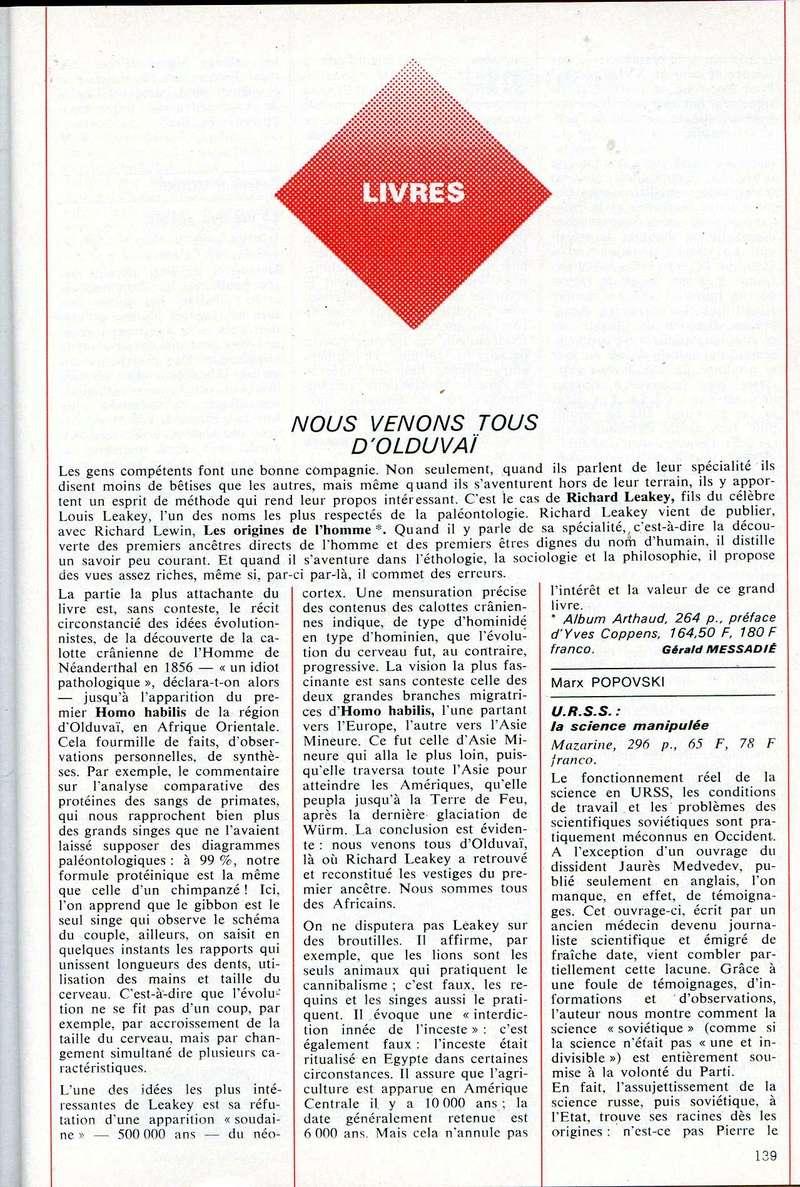 [Chroniques du Bunker de L'Apocalypse] - Page 5 Olduva10