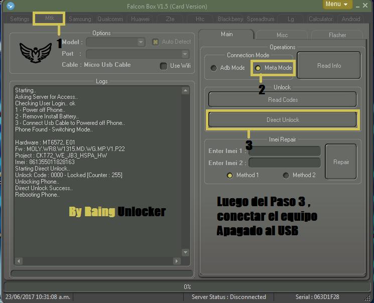 Unlock huawei y321  Unlock14