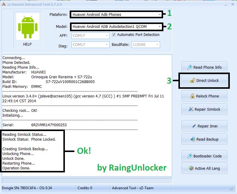 aporte Unlock Tablet Huawei s7-722u  Unlock15
