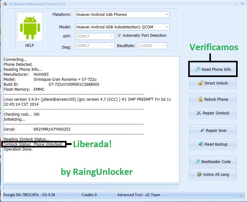 aporte Unlock Tablet Huawei s7-722u  Unlock16