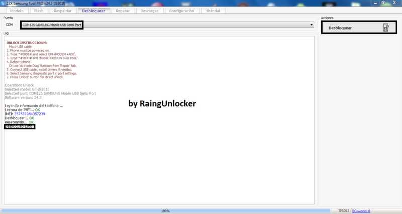 UNLOCK S3 I9301 FREE Z3X CRACK Unlock24