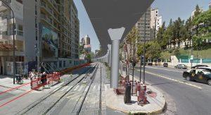 Así será el viaducto de la línea Mitre entre el Hipódromo y Belgrano 001-110