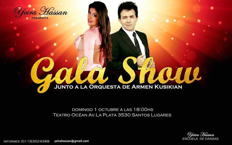 Falta muy poco, Yeira Hassan, Armen Kusikian y un gran show. Aviso_60