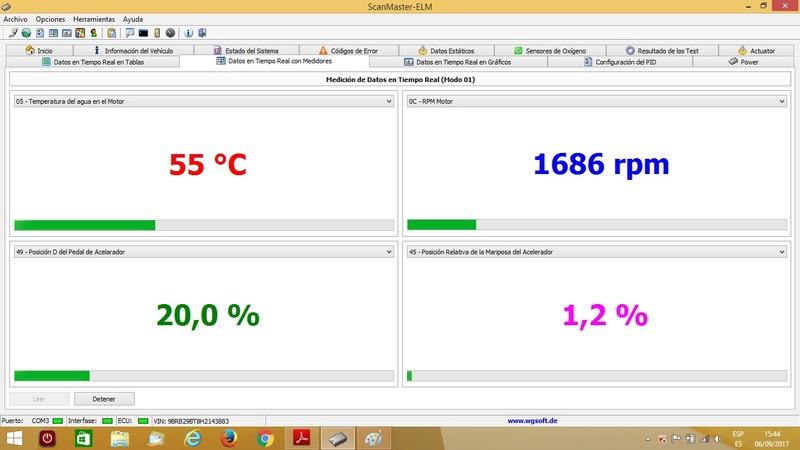Scanner ELM327 OBD2 9999910