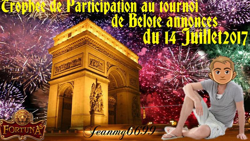 Trophee du 14.07.2017 Jeanmg6699 Trophe74