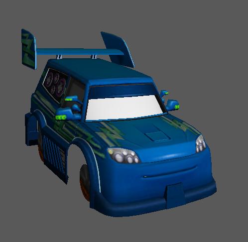 """Projeto: Veículos de """"Cars"""" no GTA SA Captur16"""