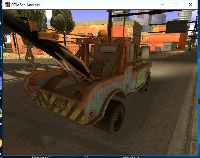"""Projeto: Veículos de """"Cars"""" no GTA SA Galler36"""