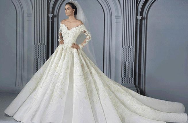 فساتين زفاف  هوت كوتور لخريف 2017 Marwan10