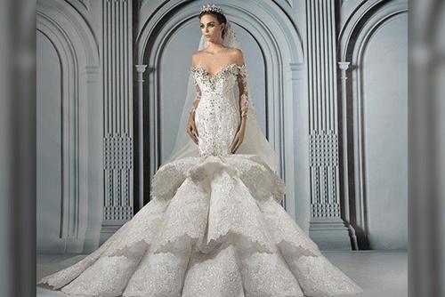 فساتين زفاف  هوت كوتور لخريف 2017 Marwan13