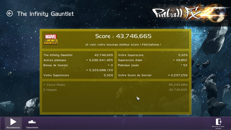 LUP's Club TdM 08.17 : The Infinity Gauntlet 20170810