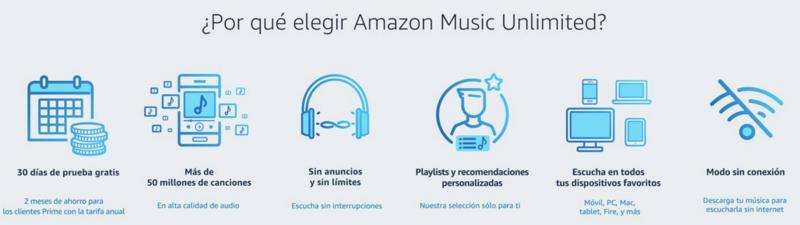 Amazon Music Unlimited ya disponible en España 2017-011