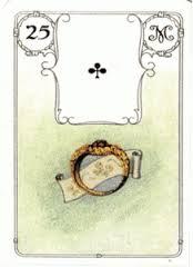 Значение 25 карты Ленорман Кольцо (Туз треф) Tylych10