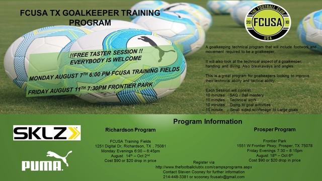 FCUSA TX Goalkeeper training program Fcusa_13