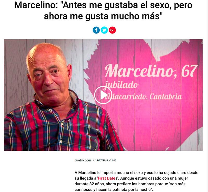 First Dates (el programa de Cuatro) Marcel10