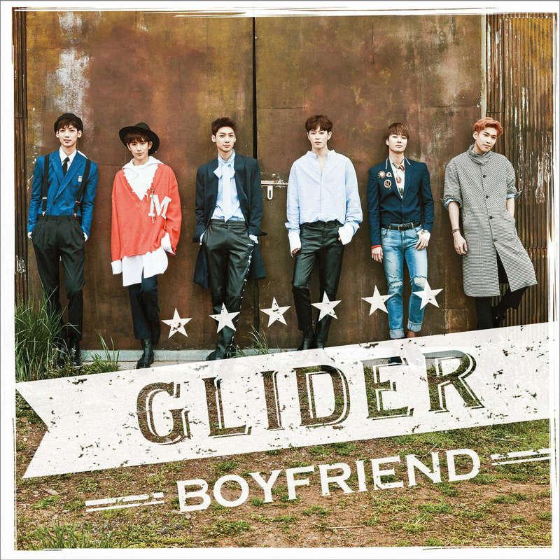 BOYFRIEND - Glider/Ashita no harewataru sora ni/ party people (Single Japones) Descarga Cover10