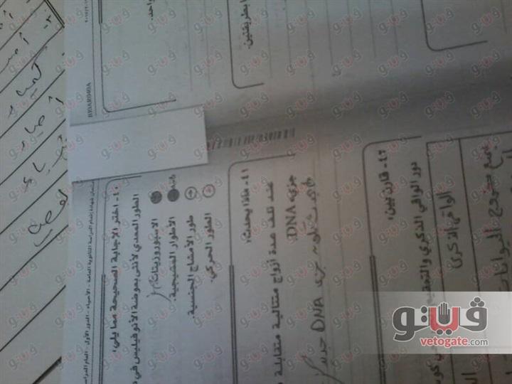 الطالبة هدير من الدقهلية - دفعنا 700جنيه للتظلم من نتيجة الثانوية العامة لا الورق ورقى ولا الخط خطى 22010