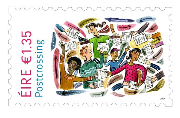 MINICOLECCIÓN - Sellos dedicados a Postcrossing Postcr11