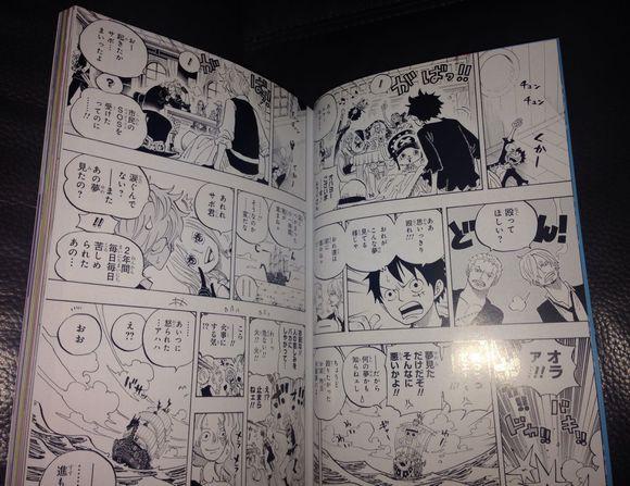 ONE PIECE MAGAZINE! + Super SBS Difk3l10