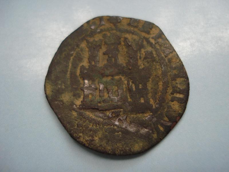 2 Maravedis a nombre de los RR.CC. ceca Cuenca Dsc01244