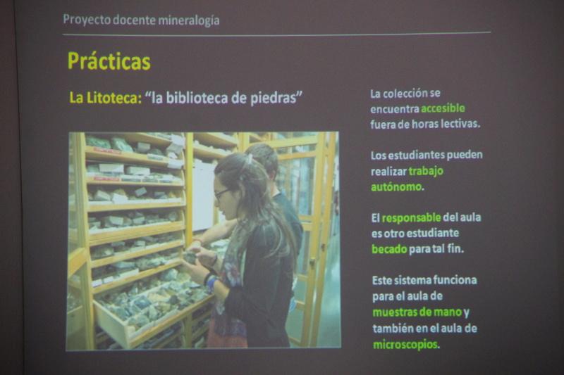 Presentació del Projecte Twin Collections de la Universitat de Barcelona al local social del Grup Mineralògic Català  810