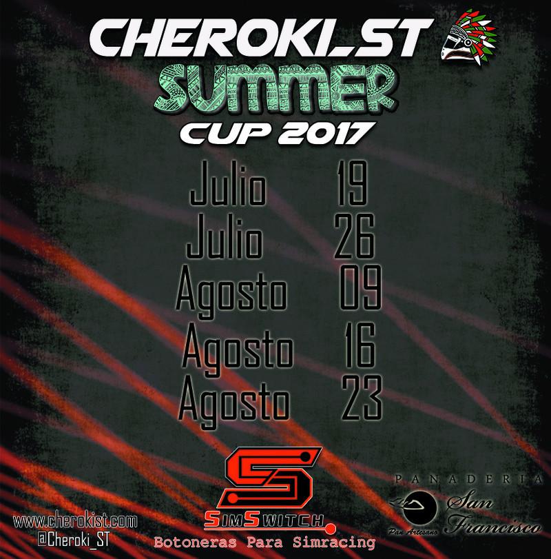 Presentamos la Cheroki Summer Cup Calend10