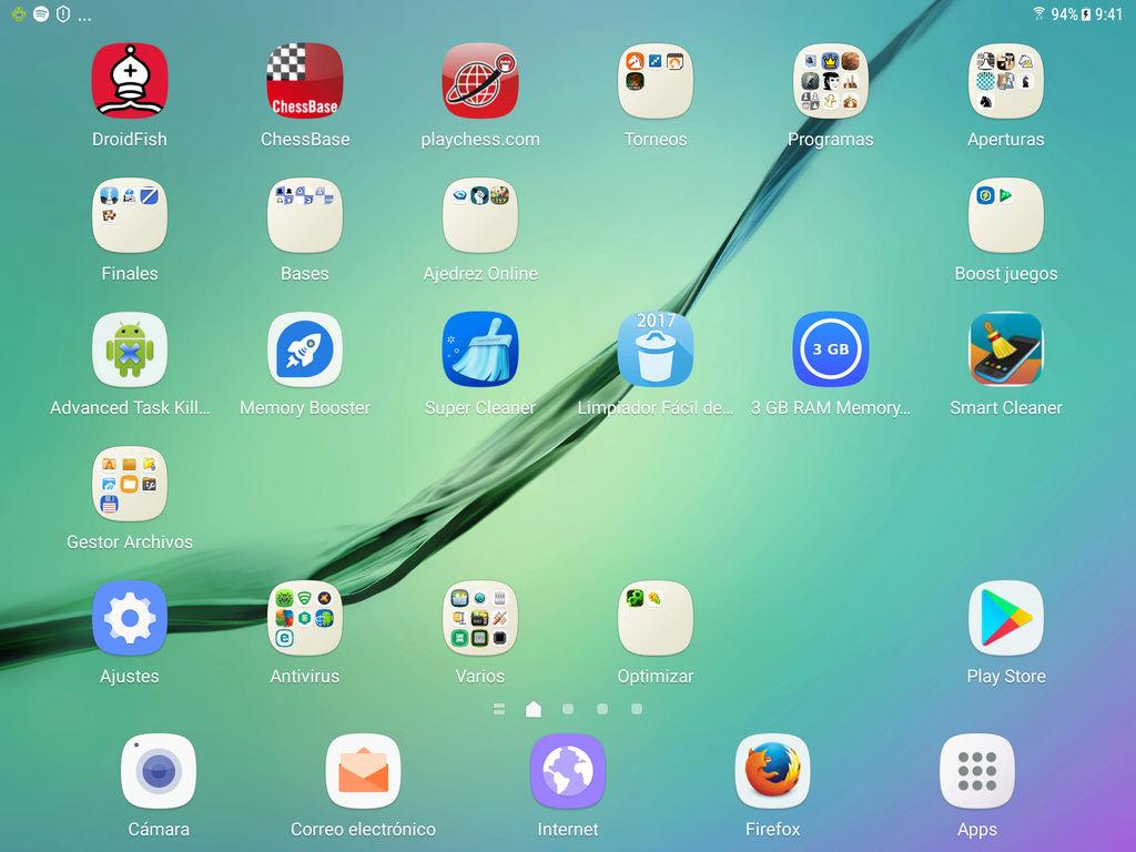 Mi nueva tableta, la Samsung Galaxy Tab S2. Screen12