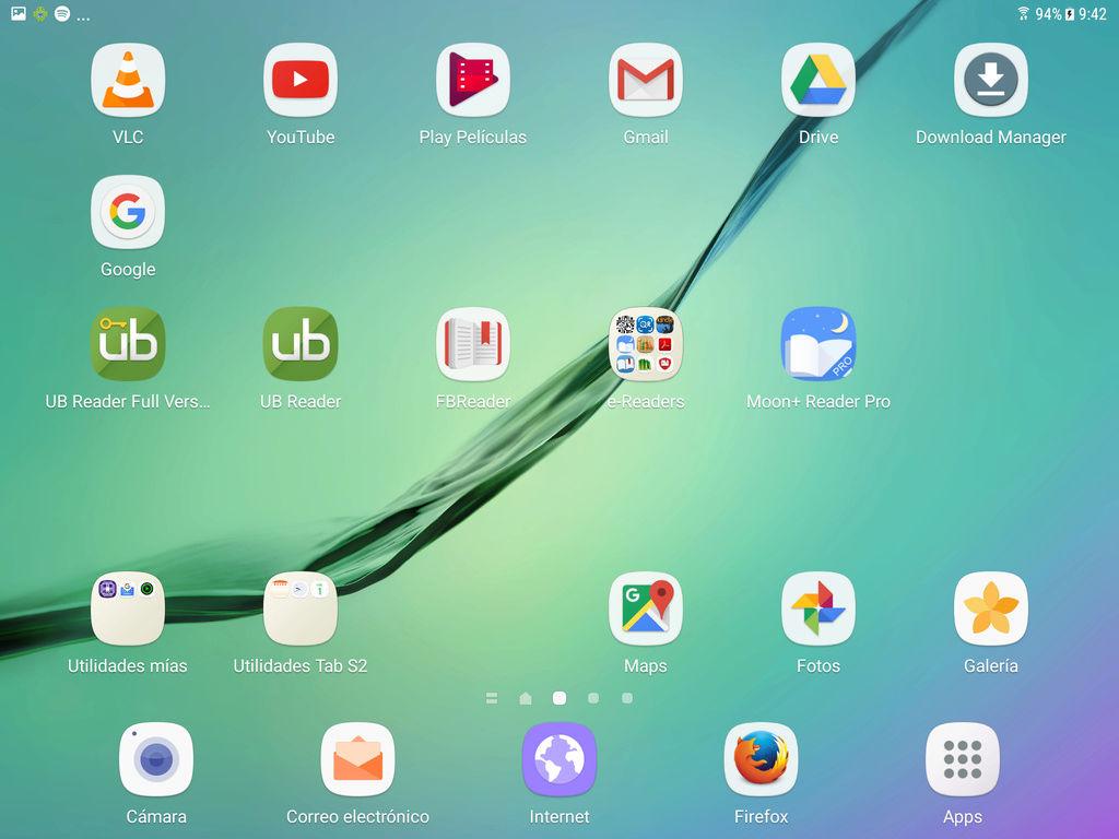 Mi nueva tableta, la Samsung Galaxy Tab S2. Screen13