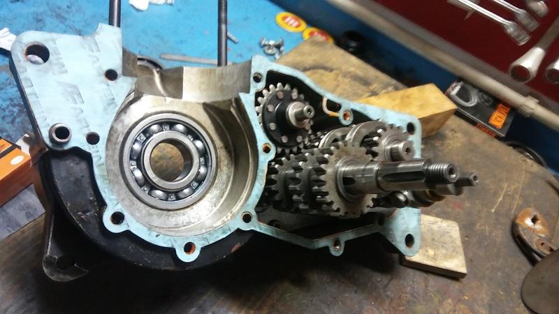 Desmontage y montage de motores 20170814