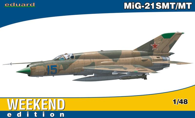MiG-21 SMT, Eduard 1/48  8412910