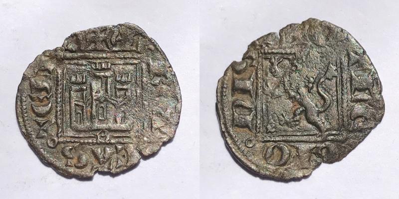 Noven de Alfonso XI de Castilla 1312-1350 Burgos. _camte13