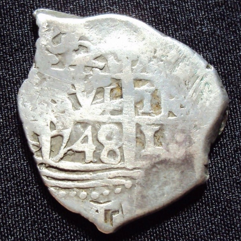 2 Reales tipo macuquino carlos III ceca de Lima-1748 Img_7910