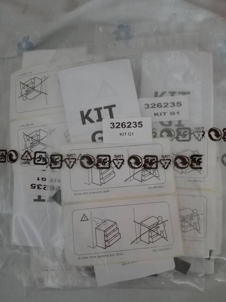 Amostras Ikea- Kit para fixação cómodas para proteger as crianças [Recebido] - Página 4 20228310