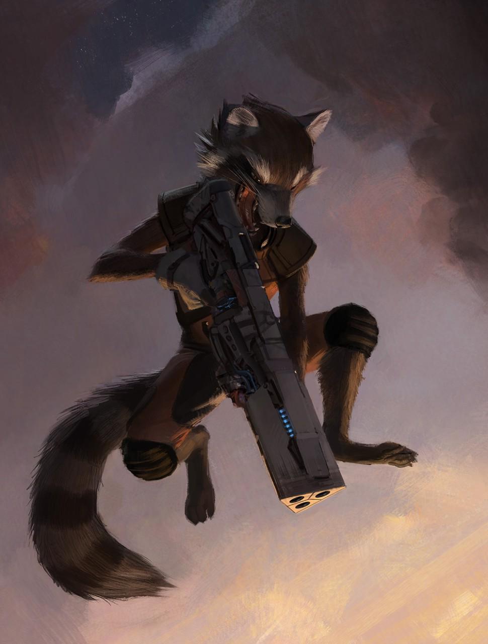 Gadget Raccoon, Constelación de la Familia Photo_13