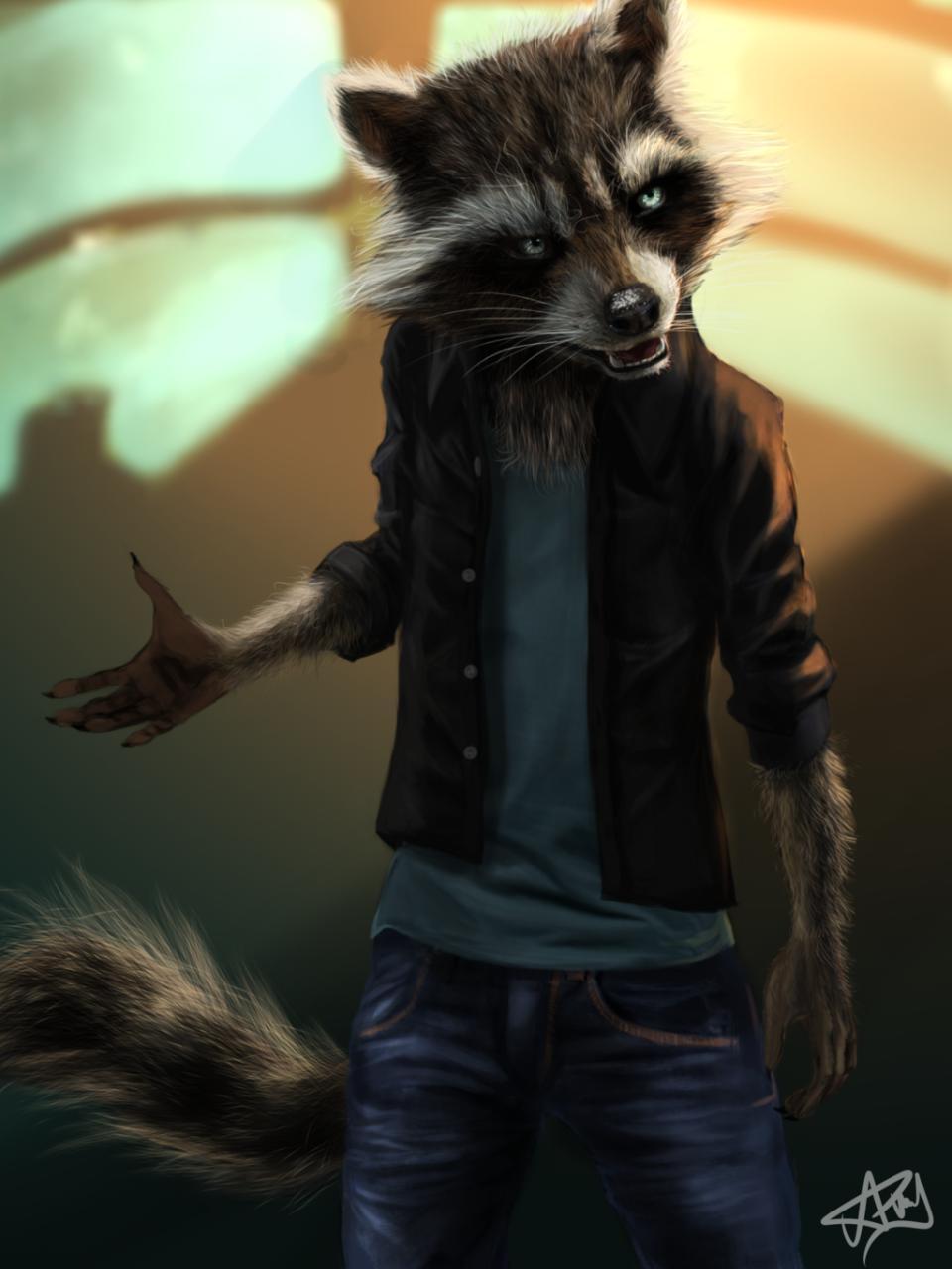 Gadget Raccoon, Constelación de la Familia Photo_14