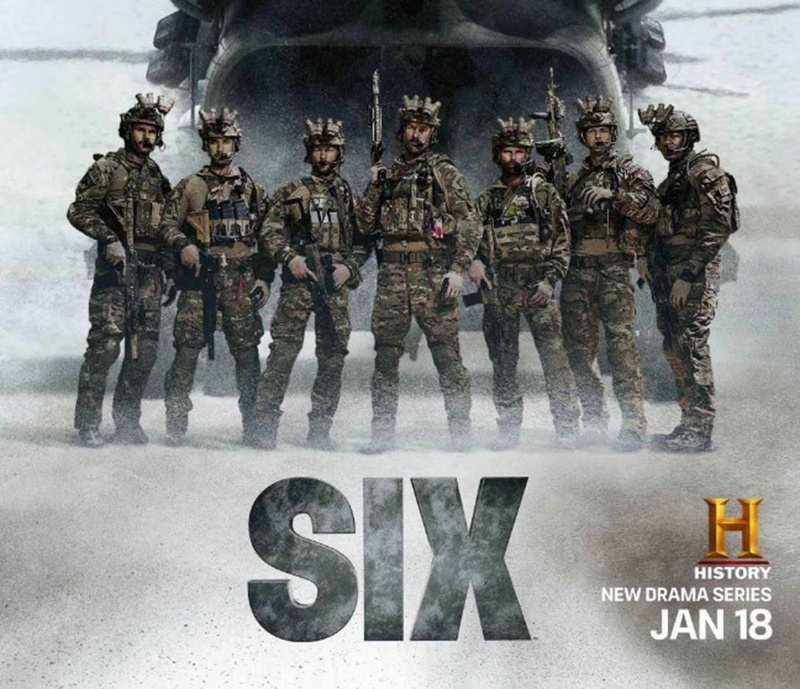 "HBO Serie ""SIX"" Df6a0f10"