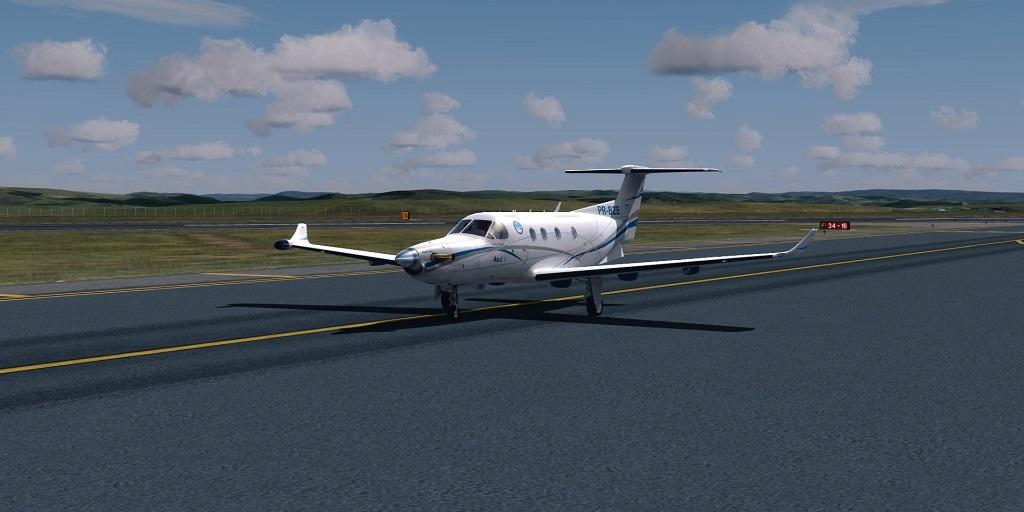 Missão Azul - Pilatus PC12 em ação. 1010