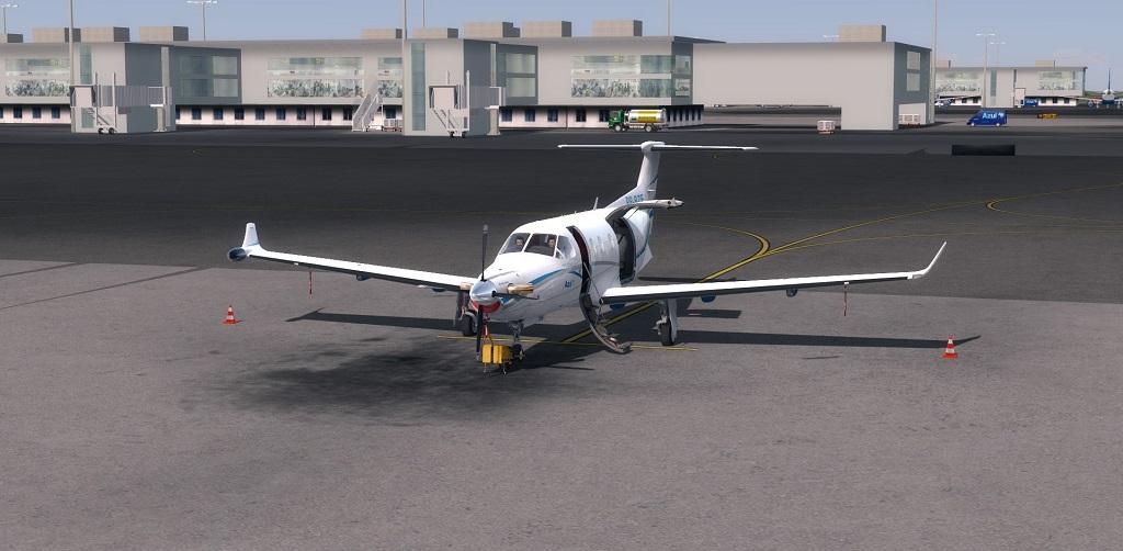 Missão Azul - Pilatus PC12 em ação. 111