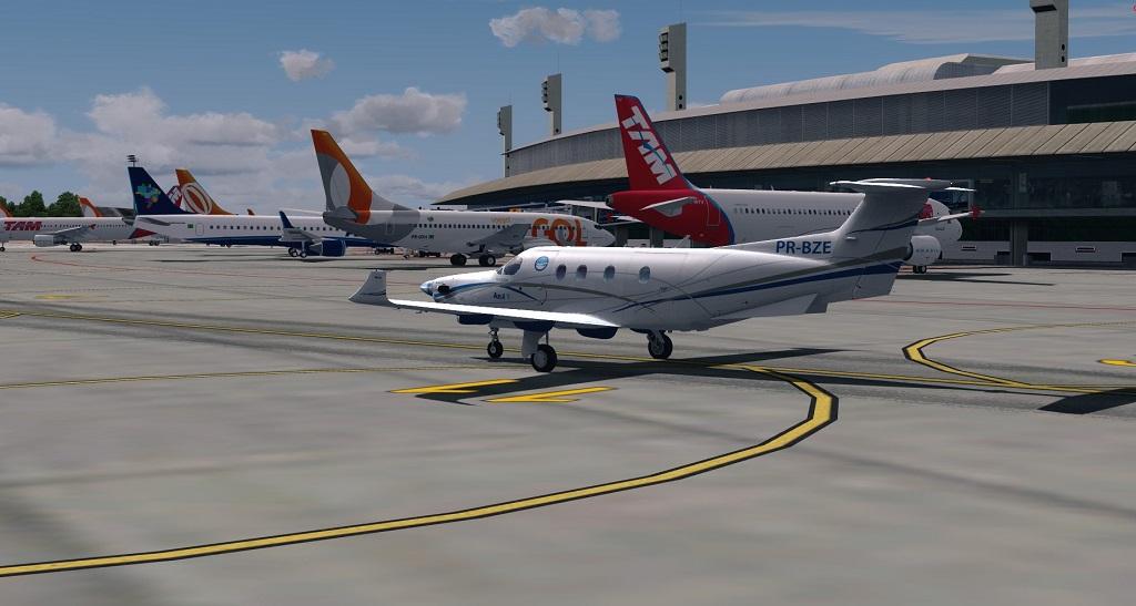 Missão Azul - Pilatus PC12 em ação. 1110